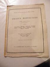 Partition Traits difficiles Hautbois Alphonse Leduc Music Sheet 3