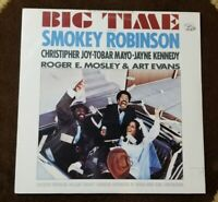 "Vintage 1977 SEALED! Smokey Robinson ""Big Time"" LP - Motown Records - MINT"