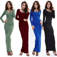 12 Colors Women's BOHO Long Maxi Evening Cocktail Party Bandage Dress Long Dress
