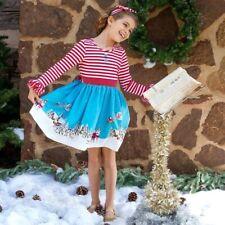 NEW Eleanor Rose Night Before Christmas Holiday Dress Girls sz 2