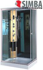 SHOWER CABIN ENCLOSURE BATH HYDROMASSAGE HYDRO MASSAGE Radio 100 x 70 cm PORTOFI