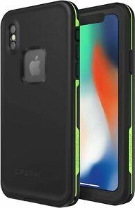 LifeProof Waterproof Dirtproof Dropproof FRE Case for iPhone X & XS -Night Lite