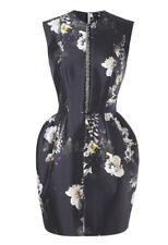 Ellery Wendy Embellished Floral Print Dress Size 6 AUS/UK