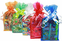 10 X Kids Birthday Party Bags - Pre Filled Sweets Toys for Children