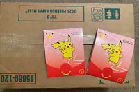 POKEMON 25TH ANNIVERSARY MCDONALDS SEALED CASE LOT 150 CARD BOOSTER PACKS TOY #3