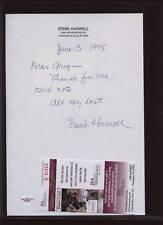 1995 Ernie Harwell Signed Letter JSA