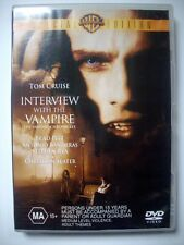 INTERVIEW WITH THE VAMPIRE DVD - Special Edition - GC - Tom Cruise, Brad Pitt
