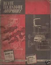 RTA  RENAULT 16 /CARBURATION  1966 N°237