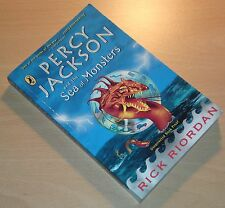 Rick Riordan Percy Jackson and the Sea of Monsters UK UNCORRECTED PROOF RARE 1st