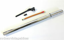 NEW BIKE PUMP VINTAGE RETRO BICYCLE OLD STYLE CHROME WITH FITTINGS TO FIT SYD