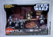 2006 Hasbro Star Wars SAGA Target Excl Mace Windu's Attack Battalion AFA-U95