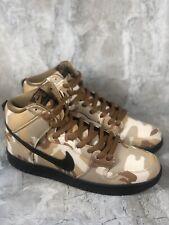 Nike SB Dunk High Pro Parachute Beige Camo Black Shoes BQ6826-200 Men Sz 8.5