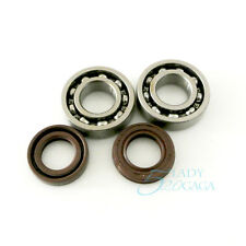 2 Pair Crankshaft Bearing & Oil Seal for STIHL 018 017 MS170 MS180 Chainsaw