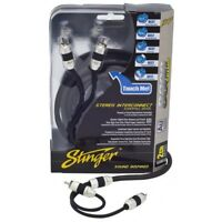 Stinger SI823 2 CHANNEL TRIPLE SHIELDED INTERCONNECT 3FT/0.9M