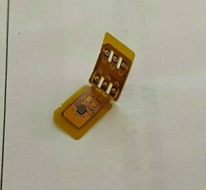 NYturbo Unlock Sim Chip Card for iPhone 13 12 Pro Max 11 XR 8 7 SE for iOS 15
