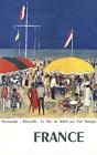 KEES VAN DONGEN Normandie-Deauville, Le Bar du Soleil 39 x 24.5 Poster 1960 Impr