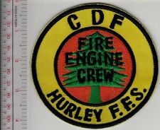Hot Shot Wildland Fire Crew CDF California Hurley Fire Station Fire Engine Crew
