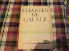Charles DE GAULLE 1890-1970 par AndréŽ FROISSARD Jean MAURIAC Henri DUVILLARD...