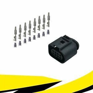 Buchse 8-polig Reparatursatz 1J0973714 für VW AUDI SKODA SEAT MT Crimp Kontakt