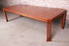 Stickley Mission Arts & Crafts Cherry Extension Dining Table, Restored