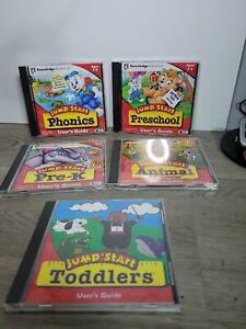 5 Jumpstart PC Games -Phonics-Pre K-Pre School-1st Grade - Homeschool Learning