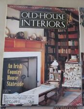 Old House Interiors Back Issues Magazines Lot 4 Entire Year 1996 DIY Remodeling