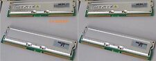 4GB 4x1GB RIMM 800MHz RAMBUS RDRAM SAMSUNG 40ns MR18R326GAG0-CM8 4096MB BNDL-200