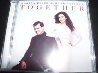 MARINA PRIOR AND MARK VINCENT Together (Australia) CD - NEW
