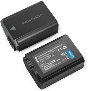 RAVPower NP FW50 2 Pack 1100mAh Kamera Akku