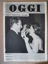 OGGI n°12 1959 Soraya Raimondo Orsini Mario Riva Max Conrad  [G774]