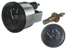 Water Temperature Gauge and sender Unit 12 volt Car, Truck, Plant, Boat,