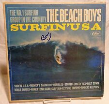 "Brian Wilson ""The Beach Boys"" Signed Autographed Album D"