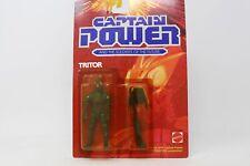 1987 MATTEL CAPTAIN POWER TRITOR FIGURE FACTORY MOC