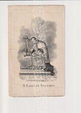 Oud doodsprentje DP Serruys Brugge Roeselare  Louches 1839 Litho (Plié)