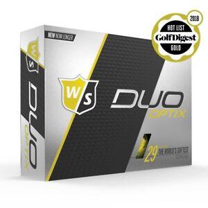 WILSON DX2 SOFT YELLOW LONG DISTANCE GOLF BALL , BEST SELLER ,  VARIOUS QUANTITY