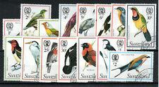 More details for swaziland 1976-78 birds set to 2e fu cds