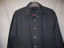 "Men's shirt ""Nautica"" size 16.5"" (34/35), cotton, l.sleeves, check, 1x pocket, e"
