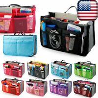Travel Makeup Cosmetic Bag Case Toiletry Beauty Organizer Zipper Holder Handbag