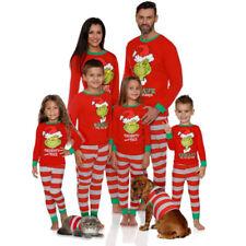 Familia Navidad Pijama Pijama Hombres Mujeres Pijama Navidad Pijamas Conjuntos Ropa para dormir