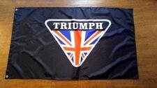 Triumph Car Flag Banner 3X5Ft Spitfire Tr7 Tr5 Tr6 Gt6 Tr 250 British