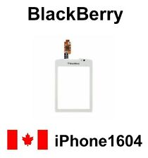 White Blackberry Torch 9800 Touch Screen Digitizer Glass with free ADHESIVE KIT