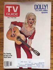 Canada Dolly Parton  TV Guide Magazine 1987 Oshawa Edition