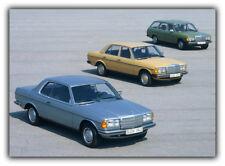 Mercedes Service d'atelier de réparation Manuel w123 230 280e 280ce 280te 240d 300d