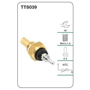 Tridon Water Temperature Sender TTS039 fits SsangYong Korando 2.3 (KJ), 2.9 T...
