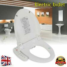 Luxury Electric Bidet Warm Toilet Seat for Elongated Toilets - Double nozzles UK