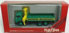 HERPA Nr.806064 MB 1619 Pritschen-Lkw mit Ladekran 'SCHENKER' - OVP