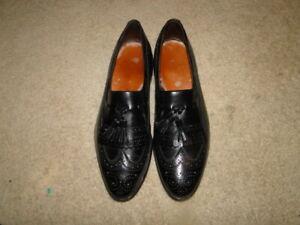 Vintage Allen Edmond MEN'S Leather Loafers  Men's Shoes  Sz 11/2 D