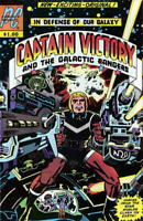CAPTAIN VICTORY #1, VF+, Jack Kirby, 1981, Galactic Rangers, Pacific