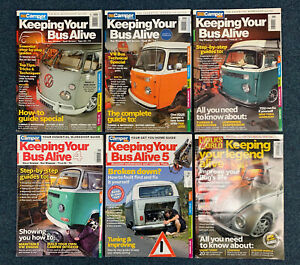 VW Keeping Your Bus Alive Issue 1-5, Camper Van magazine + Beetle Workshop Guide