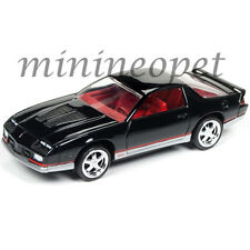 AUTOWORLD AW64041 1984 CHEVROLET CAMARO Z28 1/64 DIECAST VERSION B BLACK